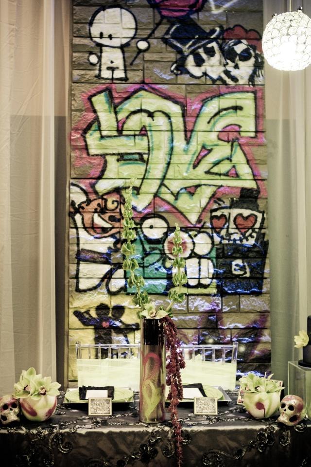 Graffiti table top 2