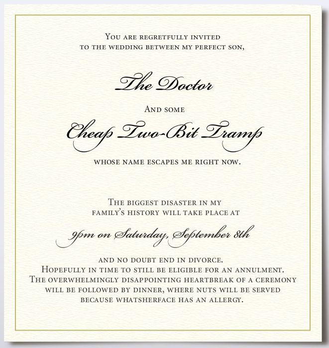 Today I Marry My Best Friend Invitations for luxury invitations design