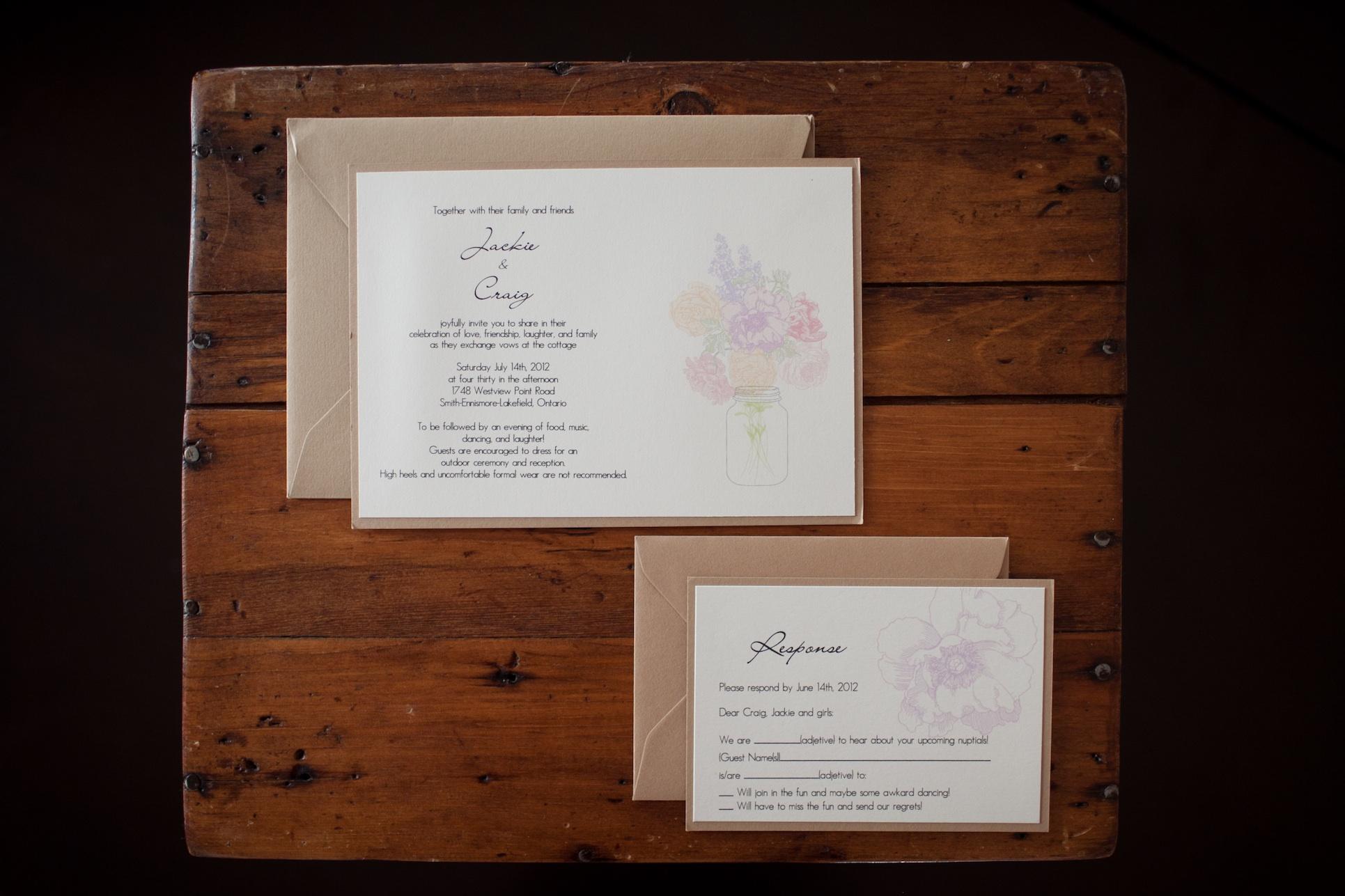 wedding invitation wording –
